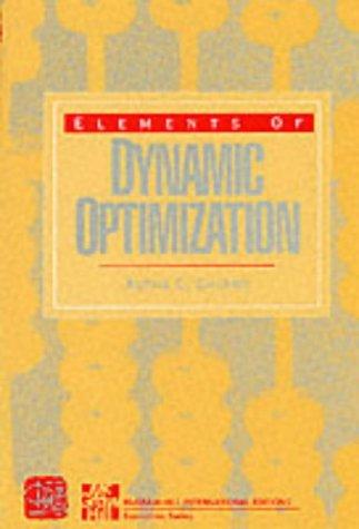 9780071125680: Elements of Dynamic Optimization