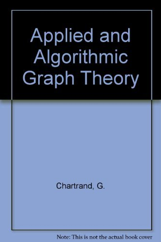 9780071125758: Applied and Algorithmic Graph Theory