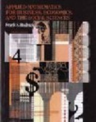9780071125802: Applied Mathematics for Business, Economics, and the Social Sciences