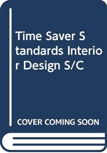 9780071125895: Time Saver Standards Interior Design S/C