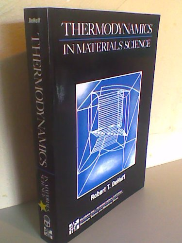 9780071125963: Thermodynamics in Materials Science