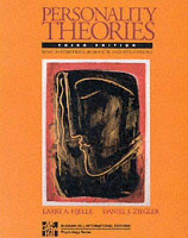 9780071126403: Personality Theories: Basic Assumptions, Research and Applications