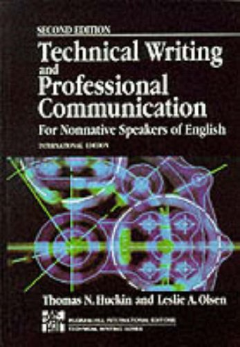 9780071126427: Technical Writing and Professional Communication