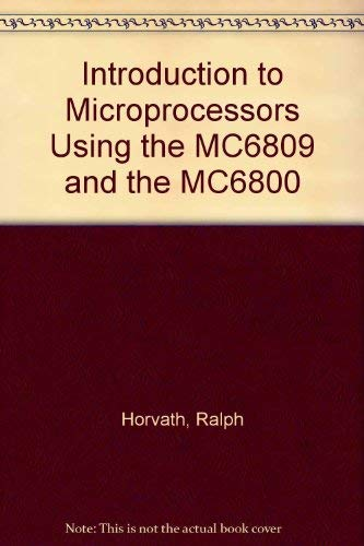 9780071126458: Introduction to Microprocessors Using the MC6809 and the MC6800