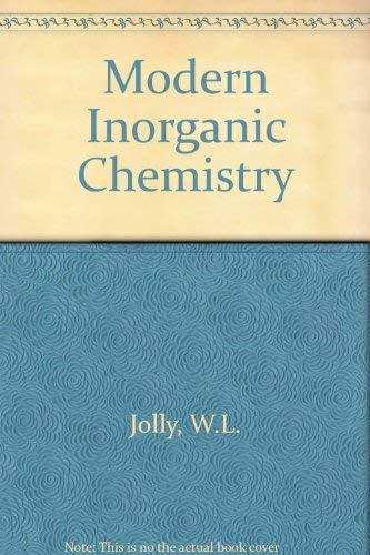 9780071126519: Modern Inorganic Chemistry