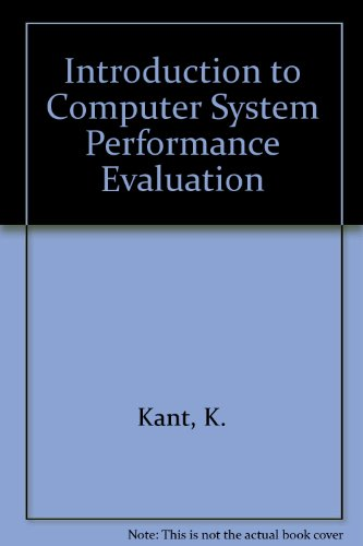 9780071126687: Introduction to Computer System Performance Evaluation