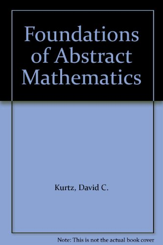 9780071126717: Foundations of Abstract Mathematics