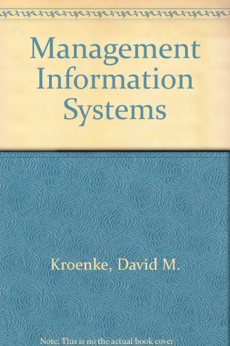 9780071126779: Management Information Systems