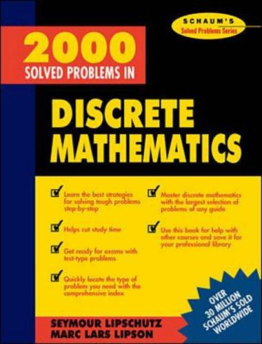 9780071126908: 2000 Solved Problems in Discrete Mathematics (Schaum's Solved Problems)