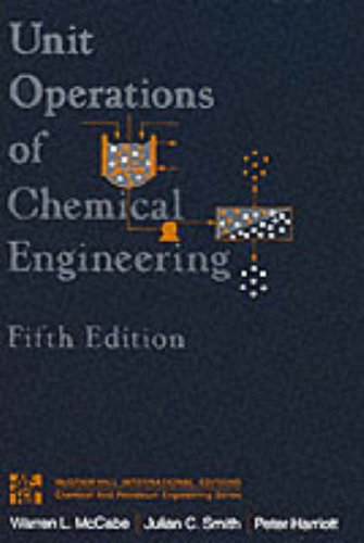9780071127387: Unit Operation and Chemical Engineering