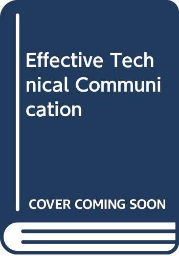 9780071127561: Effective Technical Communication