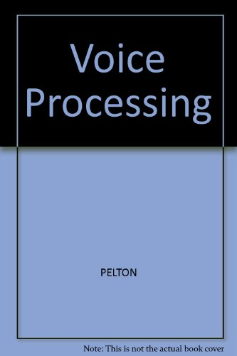 9780071127608: Voice Processing