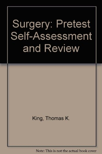 9780071127776: Surgery: Pretest Self-Assessment and Review