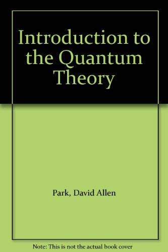 9780071127806: Introduction to the Quantum Theory