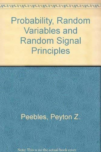 9780071127820: Probability, Random Variables and Random Signal Principles