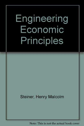 9780071128254: Engineering Economic Principles