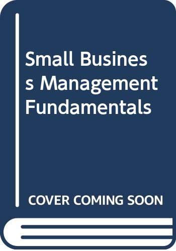 9780071128360: Small Business Management Fundamentals