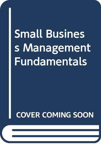 9780071128360: Small Business Management Fundamentals