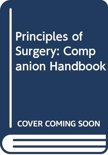 9780071128407: Principles of Surgery