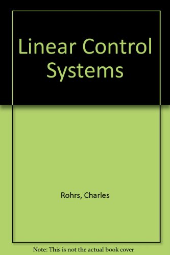9780071128476: Linear Control Systems