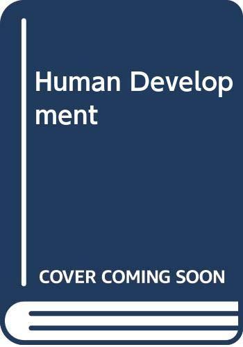 9780071128773: Human Development