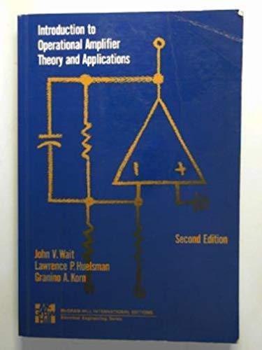 9780071128858: Introduction to Operational Amplifier Theory and Applications
