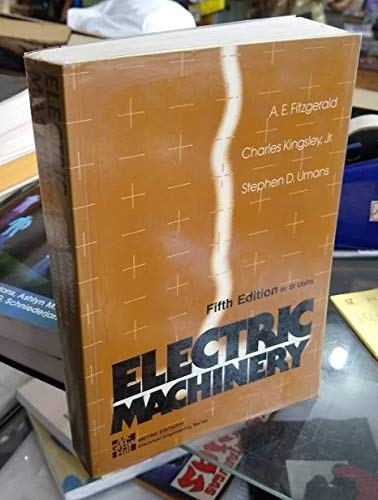 9780071129466: Electric Machinery
