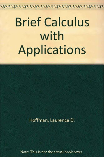 9780071129596: Brief Calculus with Applications