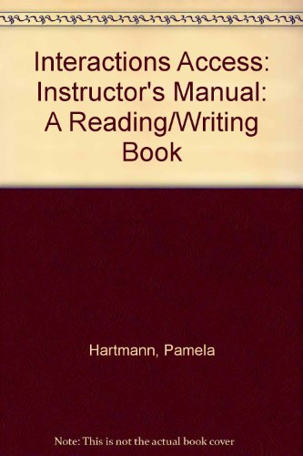 9780071129602: Interactions Access, a Reading/Writing Book