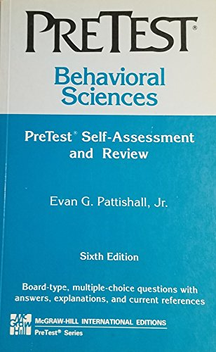 9780071129794: Behavioral Science: Pretest Self-Assessment and Review (PreTest: Basic Sciences)