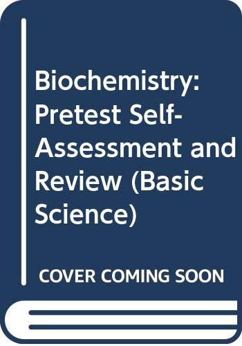9780071129848: Biochemistry: Pretest Self-Assessment and Review (Basic Science)