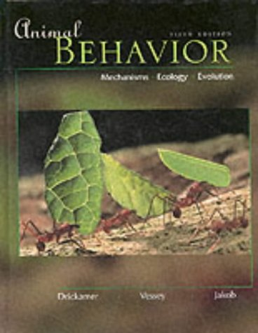 9780071130202: Animal Behavior: Mechanisms, Ecology, Evolution