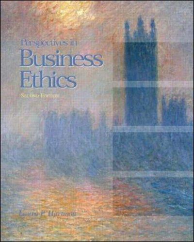9780071130493: Business Ethics