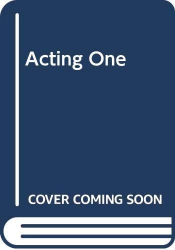 9780071131650: Acting One