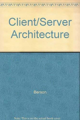 9780071132305: Client/Server Architecture