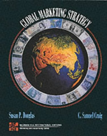 9780071132770: Global Marketing Strategy
