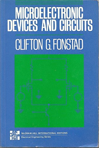 9780071133135: Microelectronic Devices and Circuits