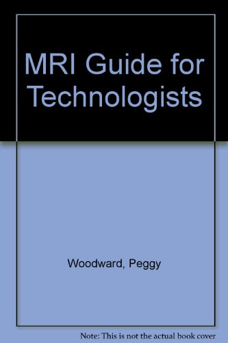 9780071133142: MRI Guide for Technologists