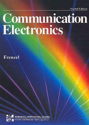 9780071133173: Communication Electronics (McGraw-Hill International Editions Series)