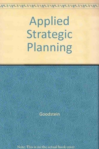 9780071133265: Applied Strategic Planning