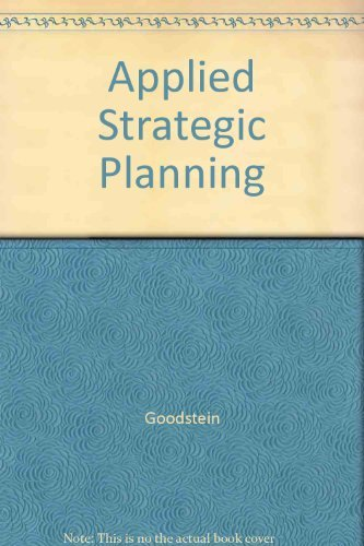 9780071133265: Applied Strategic Planning