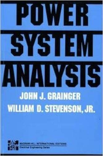 9780071133388: POWER SYSTEMS ANALYSIS (Int'l Ed) (Power & Energy)