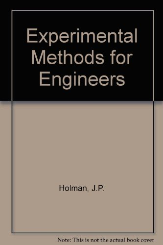 9780071133456: Experimental Methods for Engineers