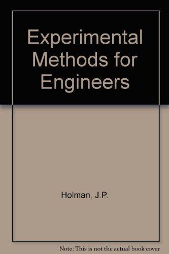 9780071133456: Experimental Methods for Engineers