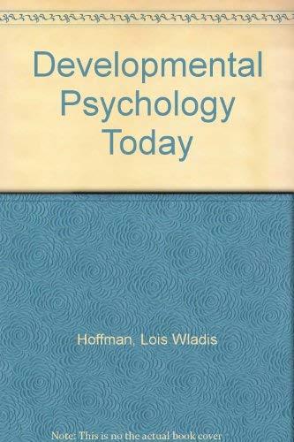 9780071133470: Developmental Psychology Today