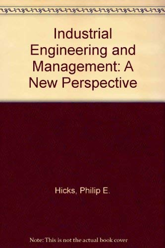 9780071133579: Industrial Engineering and Management: A New Perspective