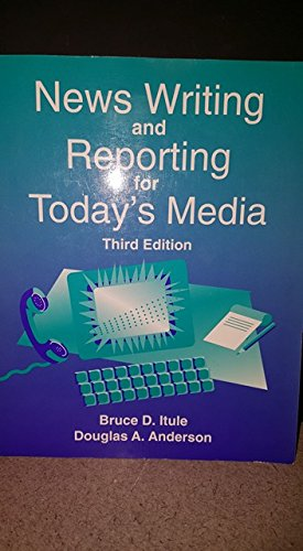 9780071133845: News Writing and Reporting for Today's Media