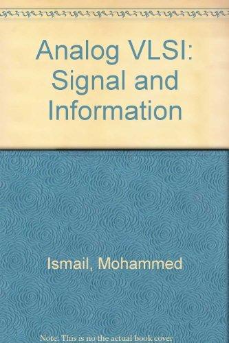 9780071133876: Analog VLSI: Signal and Information