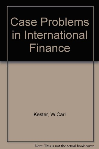 9780071134231: Case Problems in International Finance