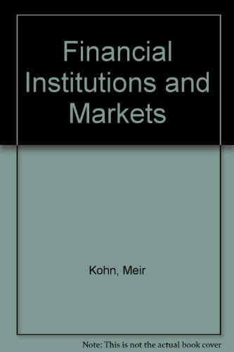 9780071134279: Financial Institutions and Markets